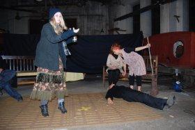 Teatr w Parowozowni, inscenizacja Serenady Mrożka