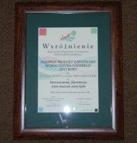 Wyróżnienie, Najlepszy Produkt Turystyczny Województwa Łódzkiego 2011