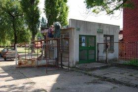 10-lecie przejącia Parowozowni, remont portierni