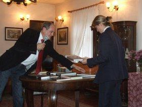 25-lecie PSMK, spotkanie w Izbie Historii Skierniewic