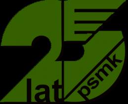 25 lat PSMK, logo