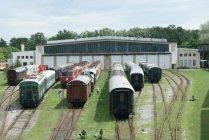 Muzealnictwo kolejowe w Austrii, parowozownia Wiedeń Strasshoff