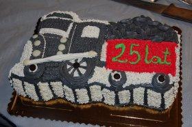 25-lecie PSMK, tort rocznicowy