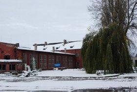 Pierwszy śnieg w Parowozowni