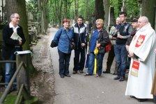 Spotkanie przy grobie Stanisława Wysockiego