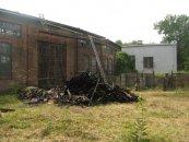 Rozbiórka dachu hali wachlarzowej